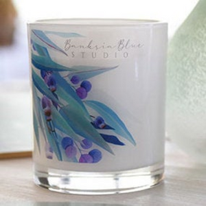 Soy Wax Handmade Candle-Rose Geranium and Lavender