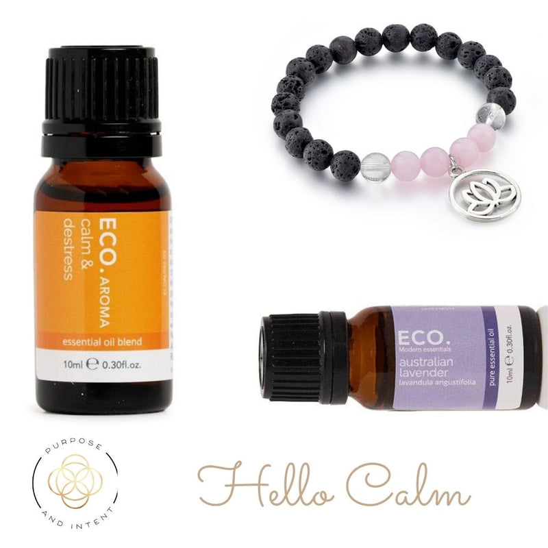 ECO. Modern Essentials Hello Calm Essential Oil Bundle