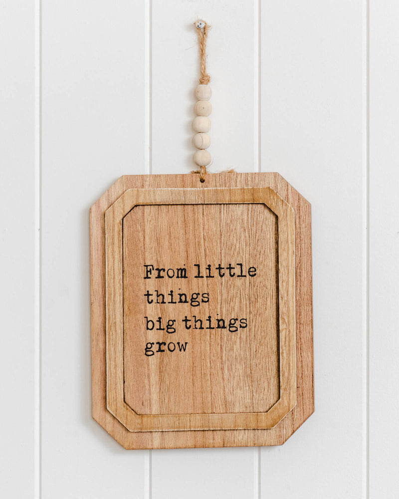 From Little Things Wall Art