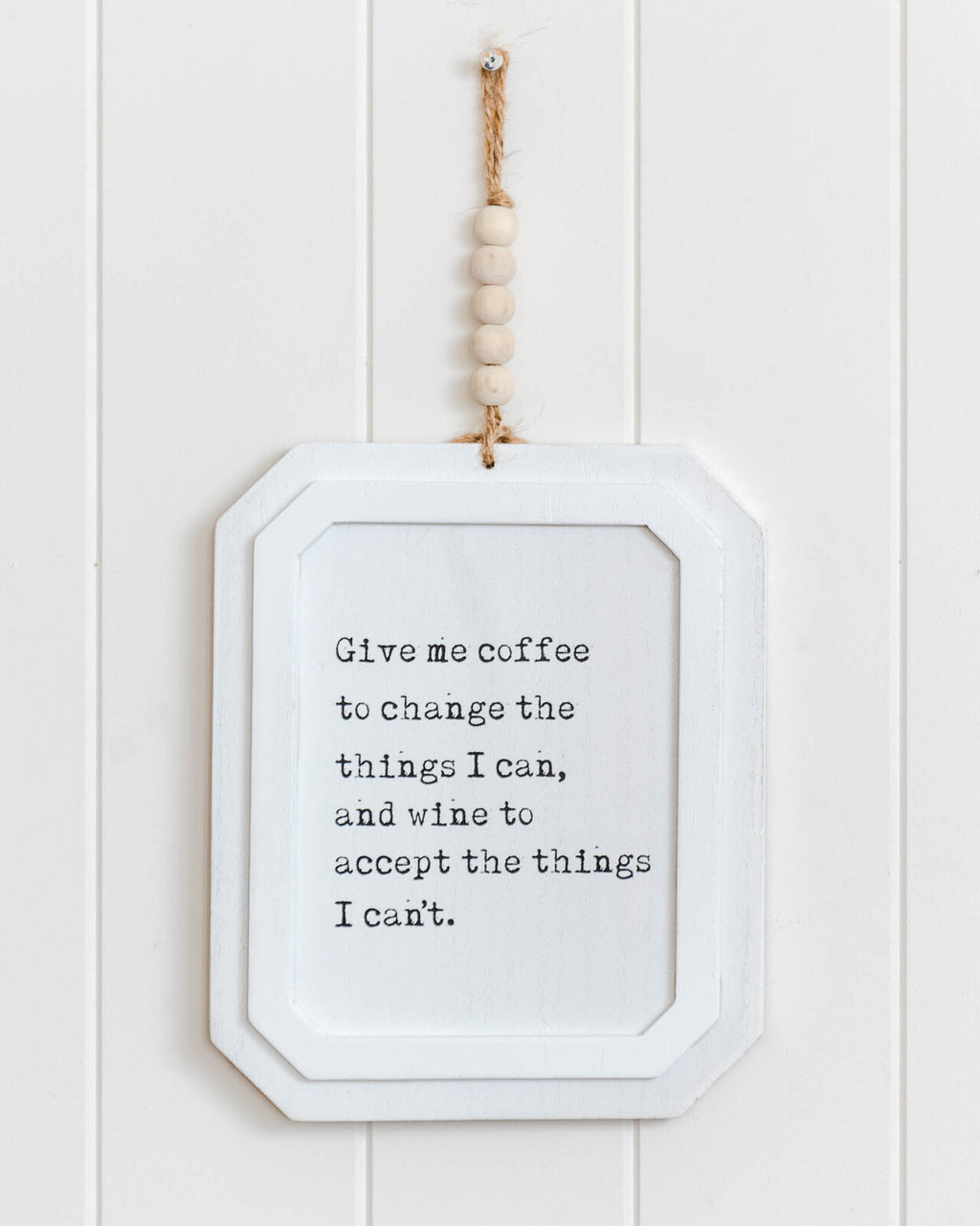 Give Me Coffee Wall Art