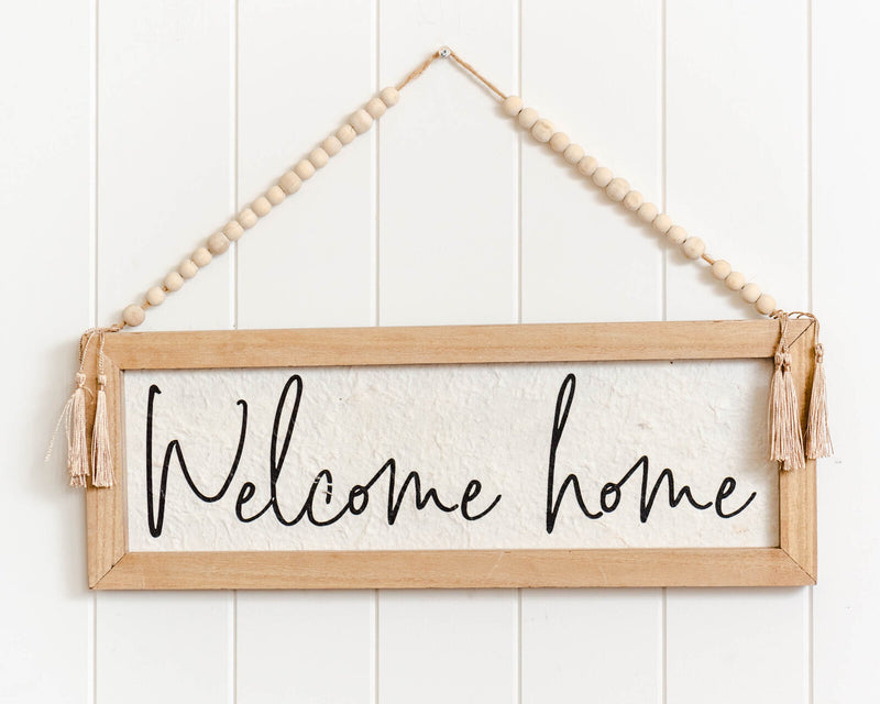 Welcome Home Wall Art