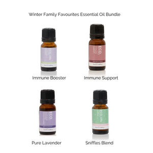 ECO. Winter Favourites Wellbeing 4 Essential Oils Value Pack