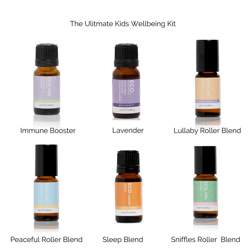 ECO. Ultimate Kids Wellbeing 6 Essential Oils Pack