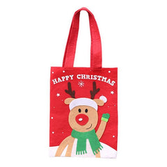 Christmas Decorations Cartoon Stickers Tote Bags Children's Gifts Candy Bags Gift Bags