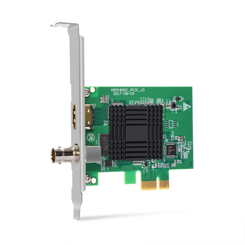MOKOSE PCI-E HDMI / SDI Video Capture Card for Windows Linux HD Game Dongle Grabber Device 1080P 60fps UVC Free Driver