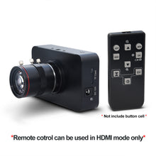 Load image into Gallery viewer, MOKOSE 12MP 3840*2160/30FPS HDMI Camera 1080P USB HD Streaming Webcam Recording 4K@30FPS Industry C/CS-Mount Camera