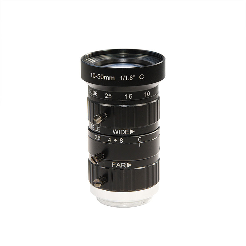 Mokose 10-50mm Telephoto Zoom Camera Manual Lens 1/1.8