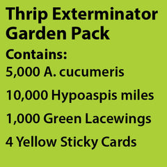 Thrip Exterminator Garden Pack