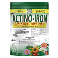 Actino Iron Organic Fungicide Soil Additive