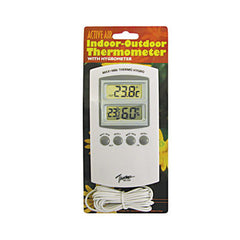 Active Air Indoor/Outdoor Thermometer w/ Hygrometer