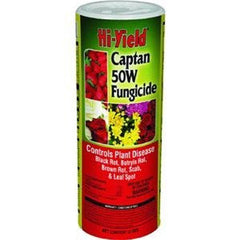 Hi-Yield Captan 50W fungicide (12 oz.)
