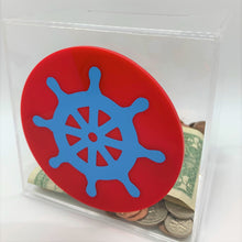 Load image into Gallery viewer, Add-On Nautical/Sea MoneyDiscs - Money Cubez MoneyCubez Customizable Kids Bank