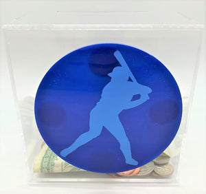 Add-On Sport MoneyDiscs - Money Cubez MoneyCubez Customizable Kids Bank