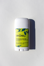 Lemongrass & Lime Natural Deodorant