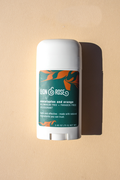 Eucalyptus & Orange Natural Deodorant