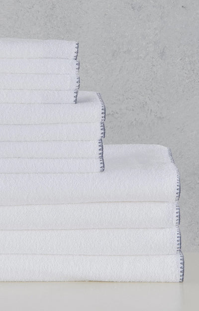 Madison Collection Bordado Towel Sets 12 folded