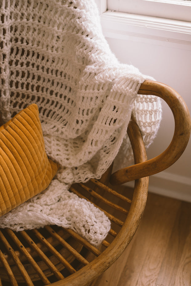 Cozy Crochet Throw Blanket