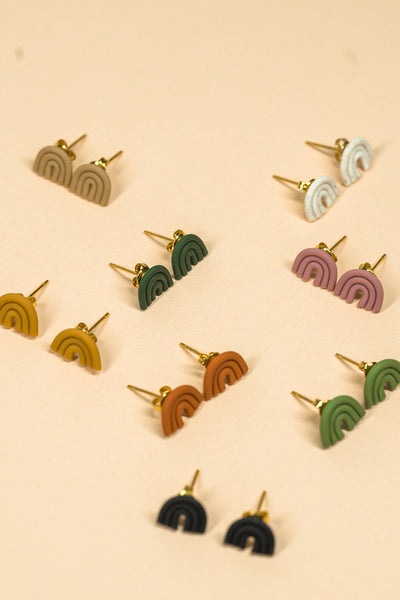 Micro Esmé Stud Earrings