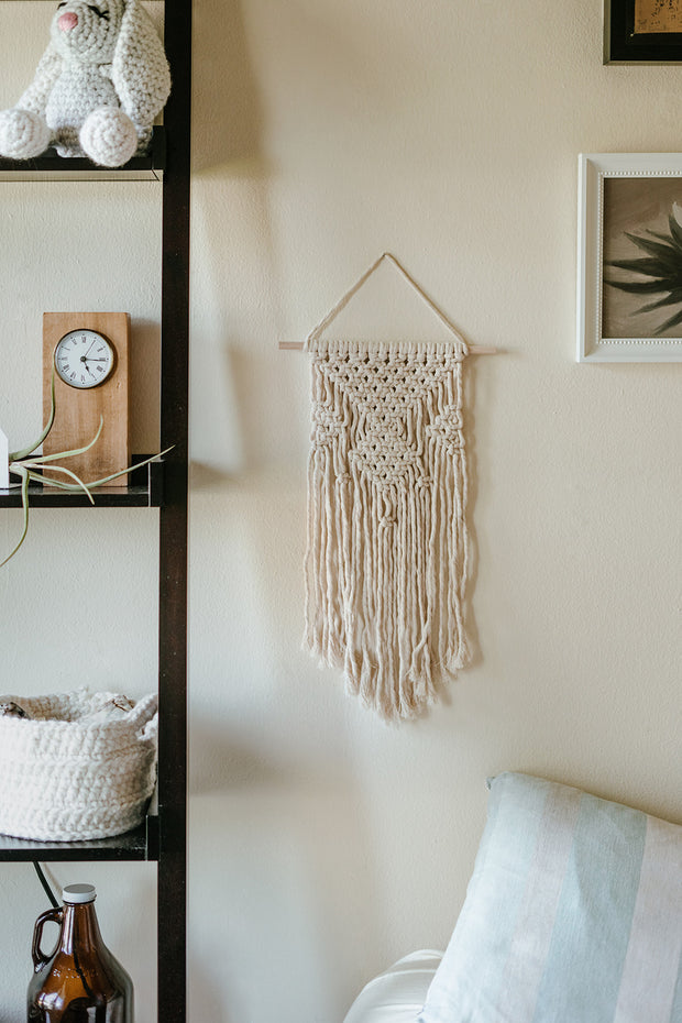 Geometric Chevron Wall Hanging