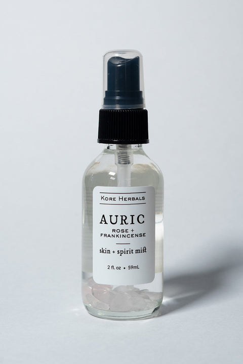 Kore Herbals Auric Skin + Spirit Mist on white background