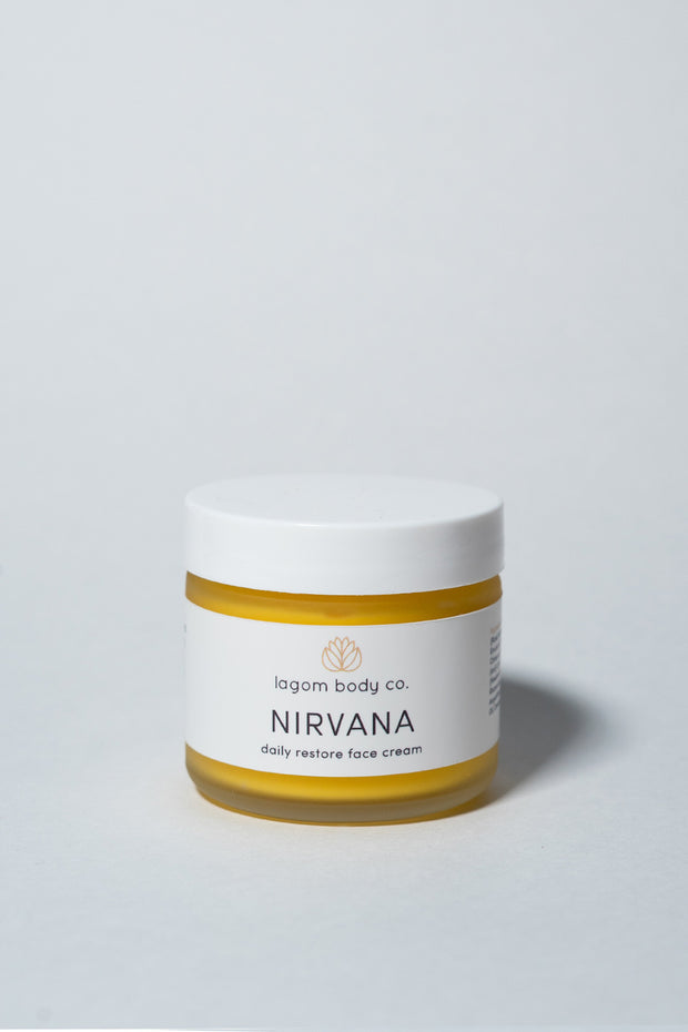 Lagom Nirvana Daily Restore Face Cream on white