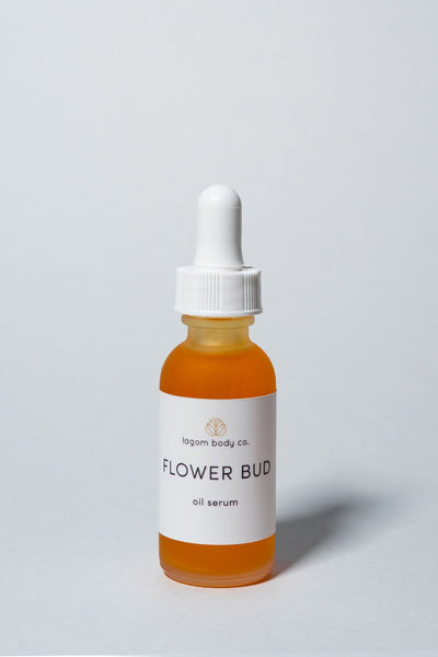 Lagom Flower Bud Oil Serum on white