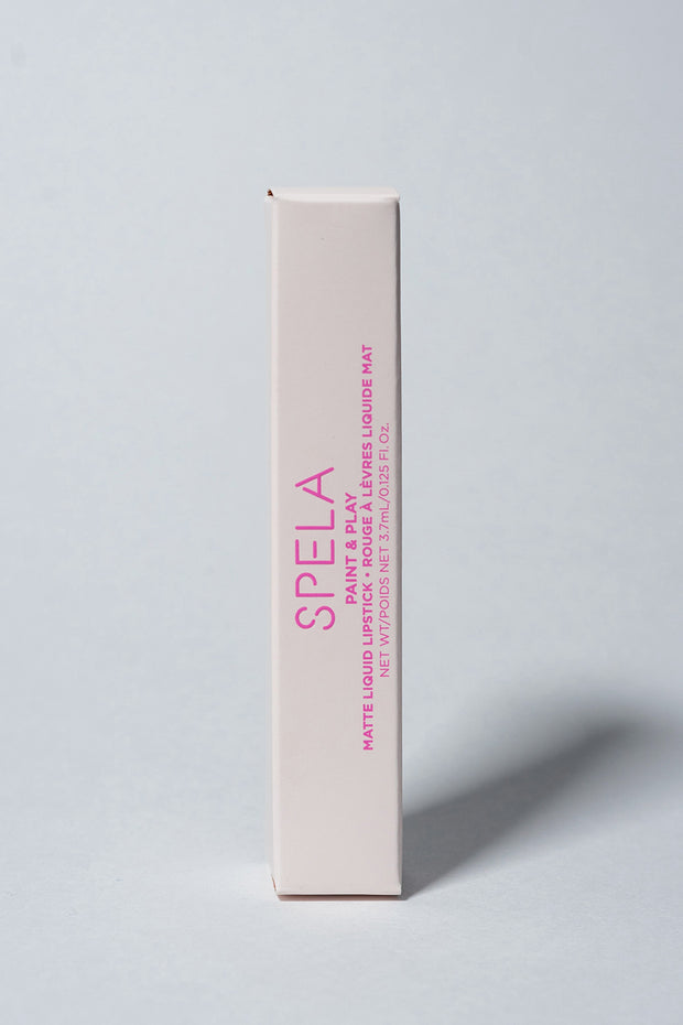 spela spa day lipstick in package
