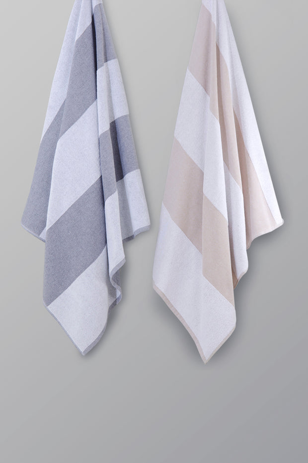 Madison Collection Striped Pool Towel