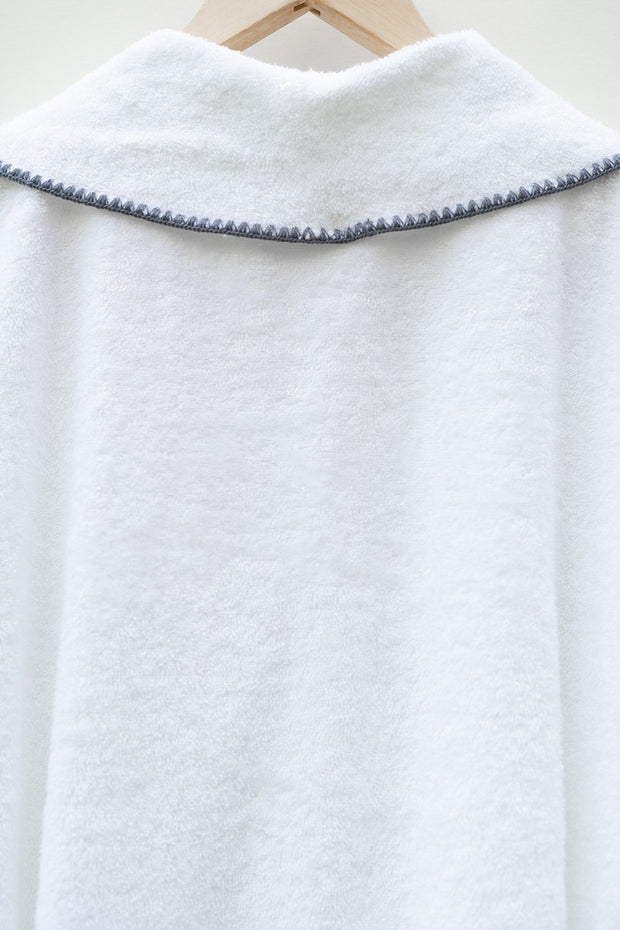 Madison Collection Borado Shawl Bath Robe Hanging Detail