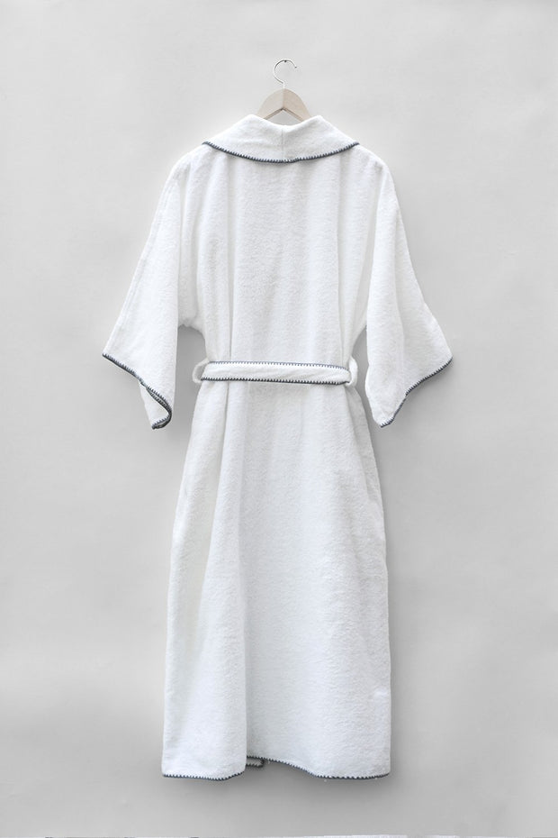 Madison Collection Borado Shawl Bath Robe Hanging Back