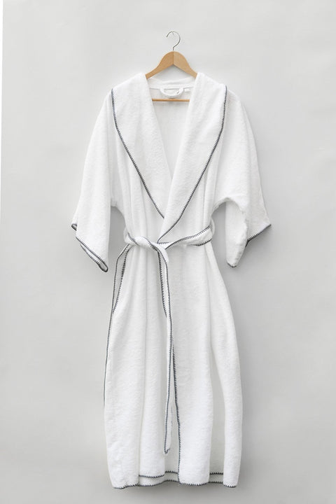Madison Collection Borado Shawl Bath Robe Hanging