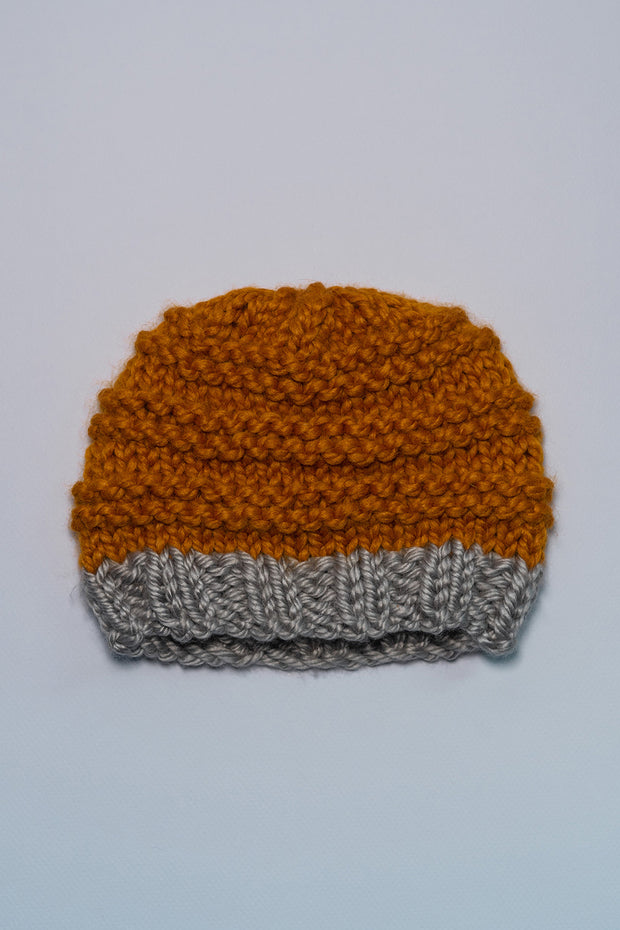 Baby's Butterscotch Beanie