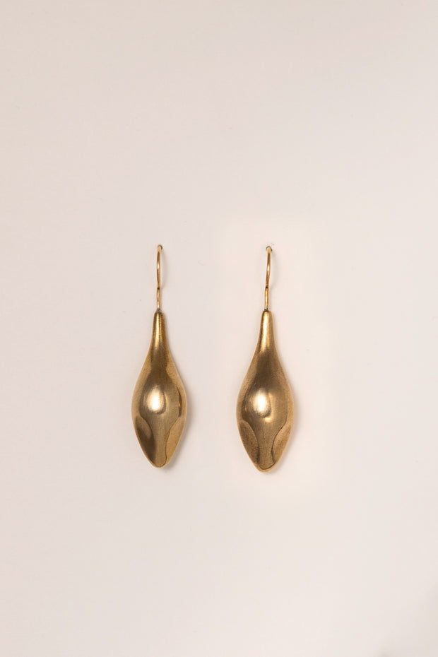 IBIS ELEMENT Taenaris bronze earrings