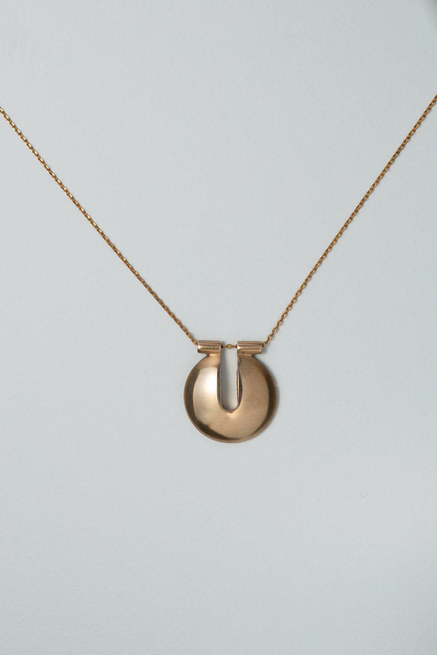 Ibis Element IOLE Pendant Necklace bronze straight on