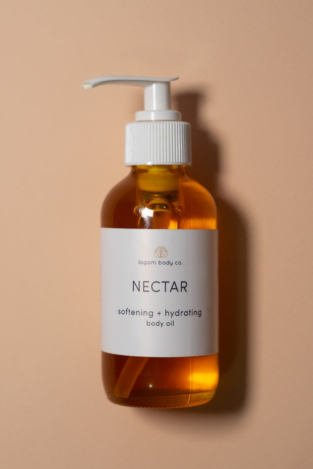 Lagom Body Co Nectar — Softening and Hydrating Body Oil on color