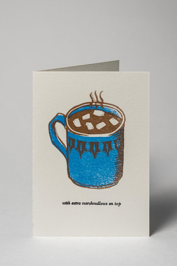 Loaded Hips Press Mixed Holiday Card Set Hot Chocolate