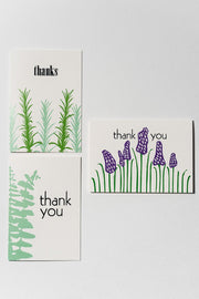 Loaded Hips Press Thank You Card Set 3 Card