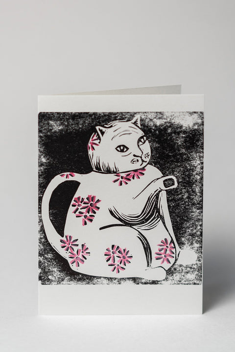 Loaded Hips Press Kitty Cards Set Cat