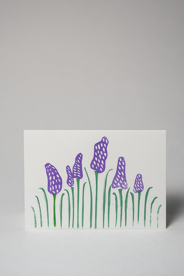Loaded Hips Press Plant Love Lavender Card