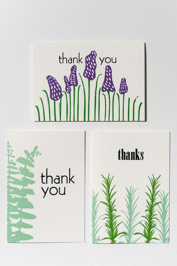 Loaded Hips Press Thank You Card Set