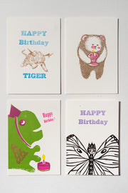 Loaded Hips Press Happy Birthday Card Set