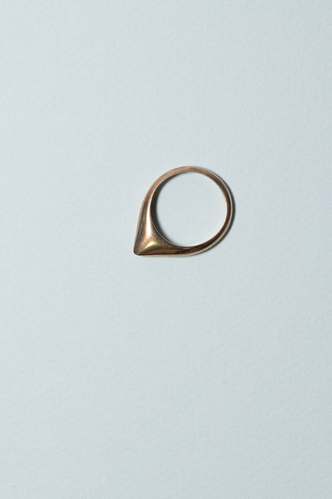 IBIS ELEMENT APPIAS bronze ring on blue