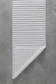 Madison Collection Wave Bath Mat top and bottom