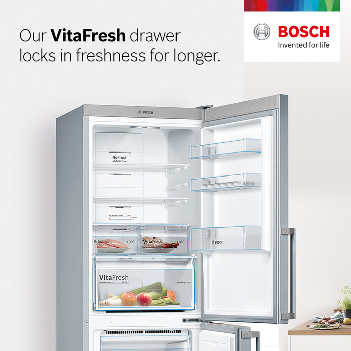 Bosch PerfectDry Dishwasher 60cm Freestanding, Zeolith - Energy efficient and perfect drying results Serie 6 SMS67MW00G white