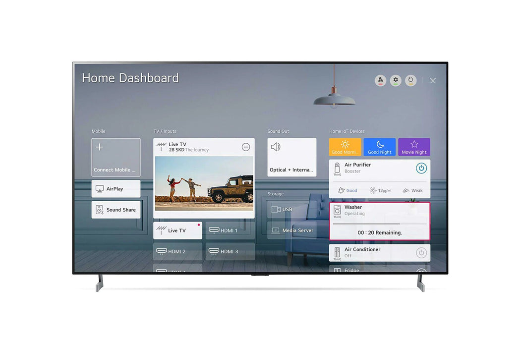 "OLED65BX6LA, LG 65"" 4K Ultra HD OLED Smart TV"