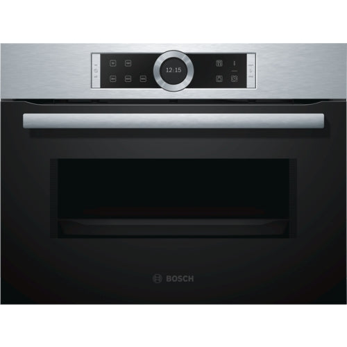 Bosch CFA634GS1B Built in microwave oven brushed steel