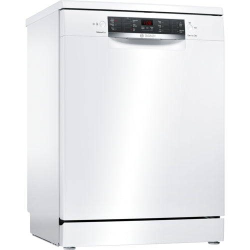 Bosch Freestanding, ActiveWater Dishwasher 60cm Serie 4 SMS46MW00G white
