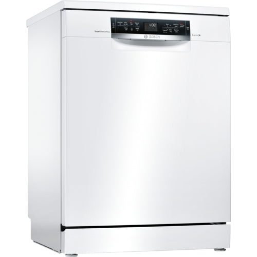 Bosch Freestanding ActiveWater Dishwasher 60cm Serie 6 SMS67MW01G white