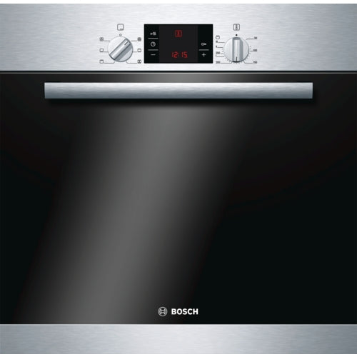 Bosch HBA23B150B Built in single multi-function oven brushed steel