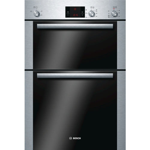 Bosch HBM13B251B  Built in double hot air oven brushed steel